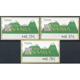ANDORRA (2003). Green...