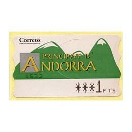 ANDORRA (1996). Montañas...