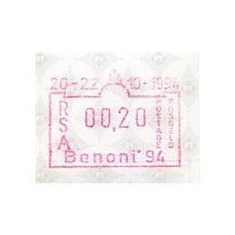 SOUTH AFRICA (1994). Benoni...