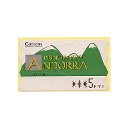 ANDORRA (1996). Green...