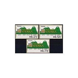 ANDORRA. Montañas verdes- 2. EUR-5E-1274 SANT JULIA. Serie (2004