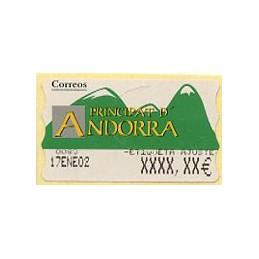 ANDORRA (2001). Green...