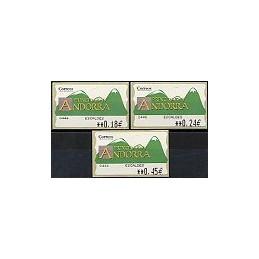 ANDORRA. Montañas verdes- 3. EUR-5E-0446 ESCALDES. Serie 3 v.-1