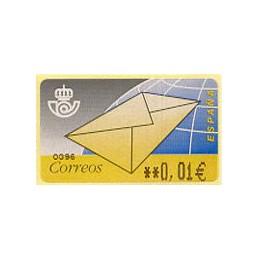 SPAIN (2001). 9. Letter....