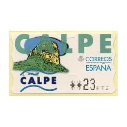 SPAIN (1999). 27. Calpe....