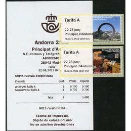 ANDORRA (2021).  Escultura...