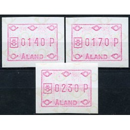ALAND (1984). Post emblem...