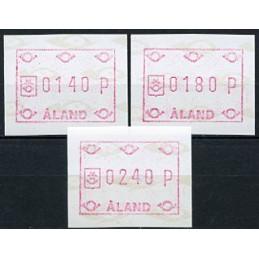 ALAND (1988). Post emblem...