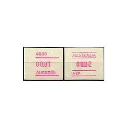 AUSTRALIA (1994). Warath. ATMs nuevos (25)