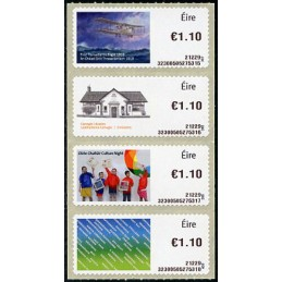 IRELAND (2021). Stamps 2019...
