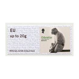 GIBRALTAR (2021). EUROPA...