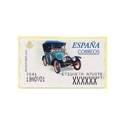 SPAIN (2001). 60. Peugeot...