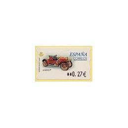 ESPAÑA. 59E. Hispano Suiza T. LF-5E. ATM nuevo (0,27)
