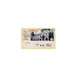 ESPAÑA. 77. Arq. postal - Logroño. LF-5E. ATM nuevo (URG 1,90)