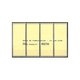FRANCIA (2004). Aviones papel (2). ATMs + nos. referencia