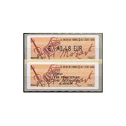 FRANCIA (2006). Salon - Mozart. ATM nuevo + recibo (DE)