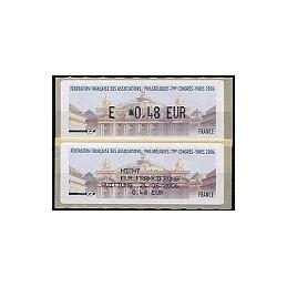 FRANCIA (2006). 79 Congres FFAP - Paris. ATM nuevo + recibo (DE)