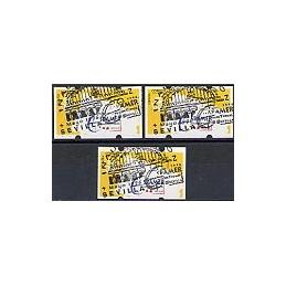 ESPAÑA. 13.1. ESPAMER 1996 - 3 dígitos. Serie 3 val., mat. (1)