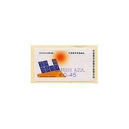 PORTUGAL (2006). Energia solar. C. AZUL - SMD. ATM nuevo