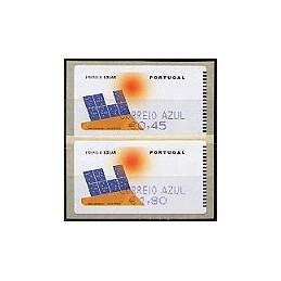 PORTUGAL (2006). Energia solar. C. AZUL - SMD. Serie 2 val.