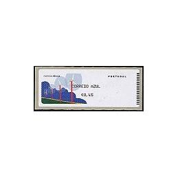 PORTUGAL (06). Energia eolica. C. AZUL. Crouzet/negro. ATM