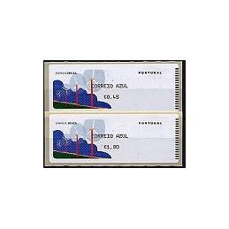 PORTUGAL (06). Energia eolica. C. AZUL. Crouzet/negro. Serie 2 v