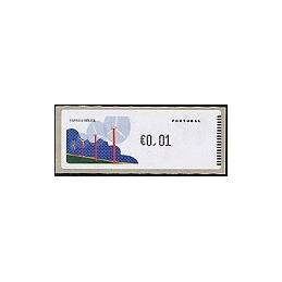 PORTUGAL (06). Energia eolica - Crouzet/negro. ATM nuevo (0,01)