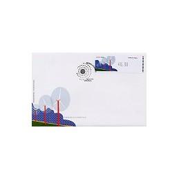 PORTUGAL (06). Energia eolica - Crouzet/negro. Sobre 1r. día