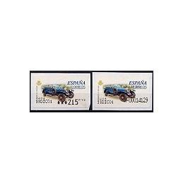 ESPAÑA. 61S. Rolls Royce S.G. Etiq. control PTS-A (N- mod)+sello