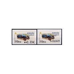 ESPAÑA. 61S. Rolls Royce S.G. Etiq. control EUR-A (N- mod)+sello
