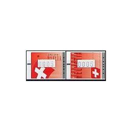 SUIZA (2005). Banderas de Suiza. ATMs nuevos