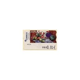 ESPAÑA. 90. Sammer G. Bodegón Tulipanes. 6E. ATM nuevo (0,01)