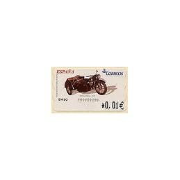 ESPAÑA. 96. DKW con sidecar. 4E. ATM nuevo (0,01)