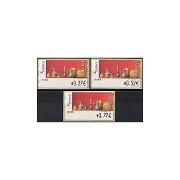 ESPAÑA. 109. Red Life (2). Sammer Gallery. 4E. Serie 3 val.