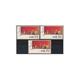 ESPAÑA. 109. Red Life (2). Sammer Gallery. 6E. Serie 3 val.