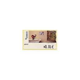 ESPAÑA. 112. J. Carrero. Carta desde ... 4E. ATM nuevo (0,01)