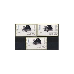 ESPAÑA. 116. Milord 1900. 6E. Serie 3 val.
