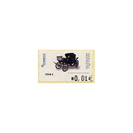 ESPAÑA. 116. Milord 1900. 4A. ATM nuevo (0,01)
