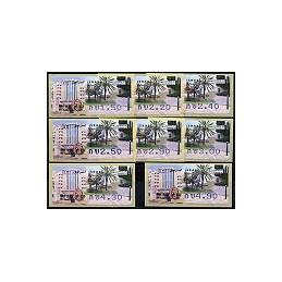 ISRAEL (2006). Rehovot - 001. Serie 8 val.