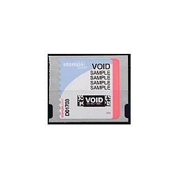 EEUU (--). Stamps.com - Rollo. Etiqueta test