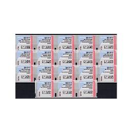 EEUU (--). Stamps.com - Rollo. Serie 18 sellos