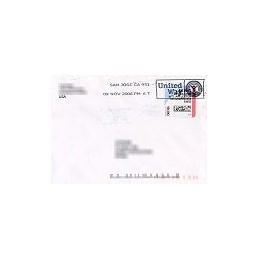 EEUU (--). Stamps.com - Rollo. Sobre