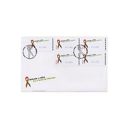 PORTUGAL (2006). SIDA - SMD. Sobre 1r. día - serie