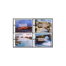 MALTA (2002). Turismo. ATMs nuevos, error impresion