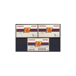 ESPAÑA. 4.3.1. Emblema postal - FNMT. No ast. Colección (0001)