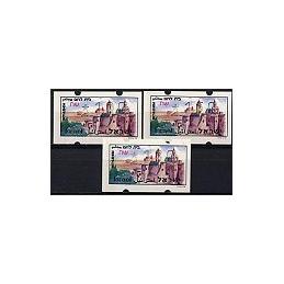 ISRAEL (1994). Turismo - Bethlehem. Serie 3 val. (x1,00)