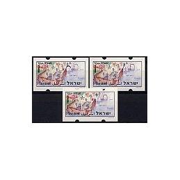 ISRAEL (1994). Turismo - Tiberias - 035. Serie 3 val. (x0,90)