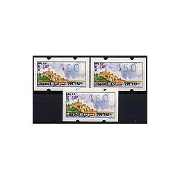 ISRAEL (1994). Turismo - Yafo. Serie 3 val. (x1,00)