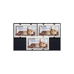 ISRAEL (1994). Turismo - Jerusalem. Serie 3 val. (x1,00)