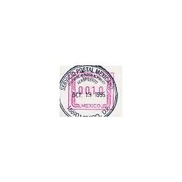 MÉXICO (1994). Frama. Papel blanco. ATM nuevo, matasello